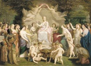Reproduction oil paintings - Henri Pierre Picou - Allegory of spring