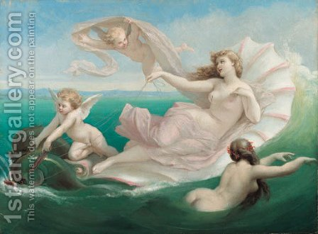 Sea nymphs by Henri Pierre Picou - Reproduction Oil Painting