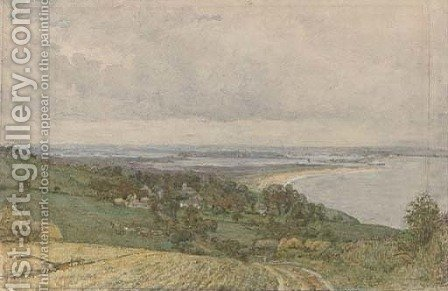 Poole, Dorset by Henry Robert Robertson - Reproduction Oil Painting