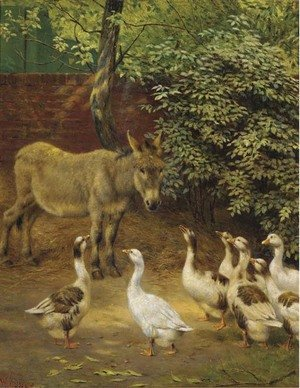 Reproduction oil paintings - Herbert William Weekes - The march past