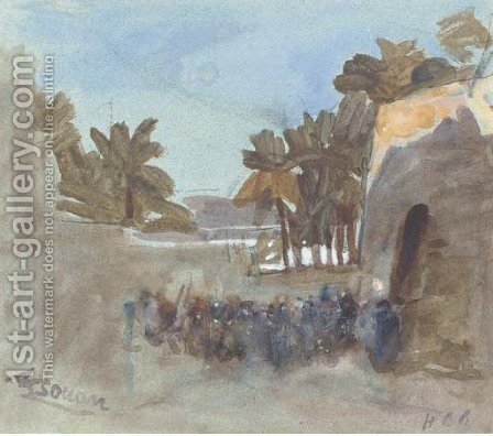 Assouan by Hercules Brabazon Brabazon - Reproduction Oil Painting