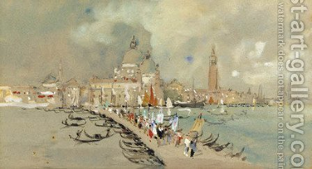 Venice 3 by Hercules Brabazon Brabazon - Reproduction Oil Painting