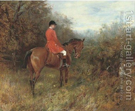 Drawing covert by Heywood Hardy - Reproduction Oil Painting