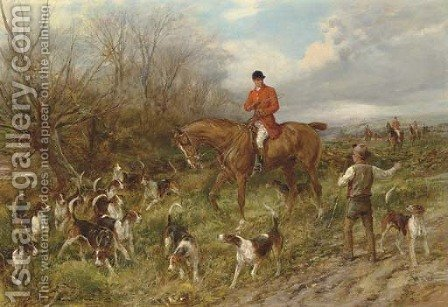 The Lost Scent by Heywood Hardy - Reproduction Oil Painting