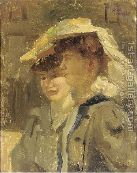 Deux Parisiennes by Isaac Israels - Reproduction Oil Painting