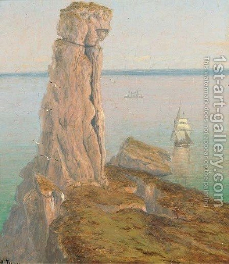 The Bumble Rock by Isaac Walter Jenner - Reproduction Oil Painting