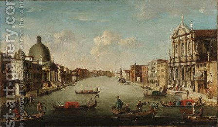 The Grand Canal, Venice 2 by Italian School - Reproduction Oil Painting