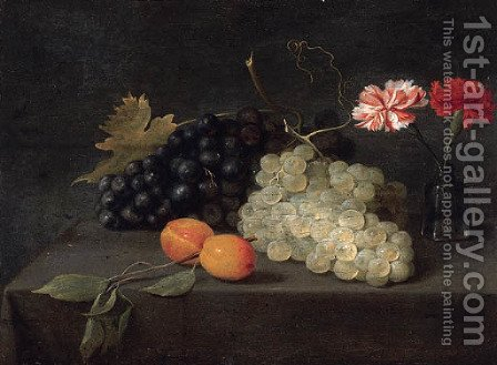 Plums by Jacob Fopsen van Es - Reproduction Oil Painting