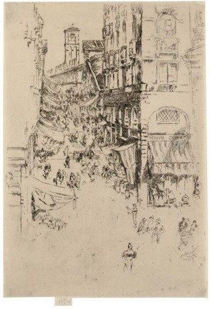 Reproduction oil paintings - James Abbott McNeill Whistler - Rialto