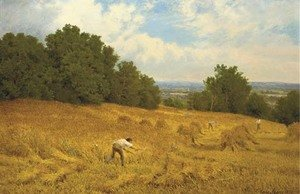 John Clayton Adams reproductions - Harvesting, Surrey