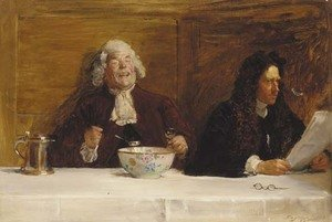 Reproduction oil paintings - John Seymour Lucas - When Doctors Differ