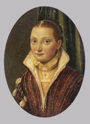 Mannerism painting reproductions: Portrait Of Sofonisba Anguissola 1560