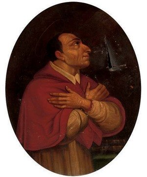 Reproduction oil paintings - Daniele Crespi - Saint Charles Borromeo