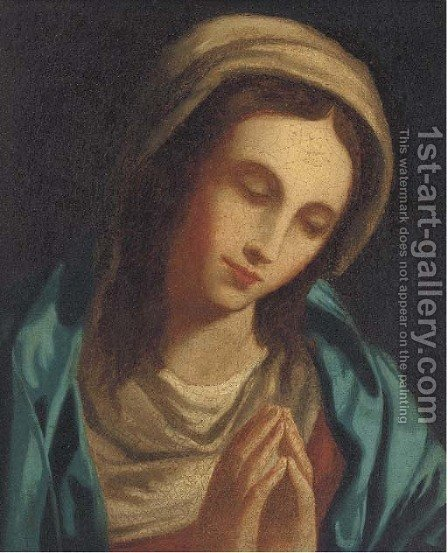 The Penitent Magdalen 2 by (after) Giovanni Battiata Salvi, Il Sassoferrato - Reproduction Oil Painting