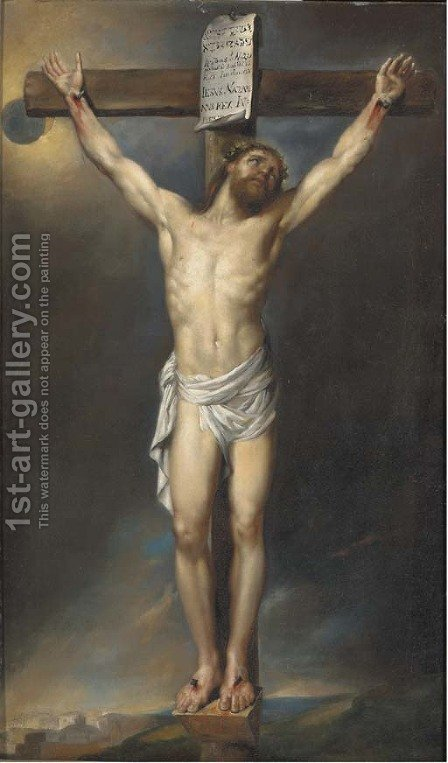 The Crucifixion 5 by (after) Sir Peter Paul Rubens - Reproduction Oil Painting