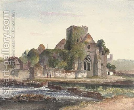 Ross Castle, Killarney, Co. Kerry by Harriet Cheney - Reproduction Oil Painting