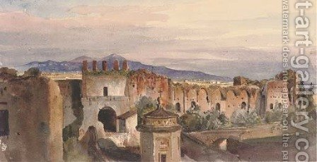 The Porta Latina, Rome by Harriet Cheney - Reproduction Oil Painting