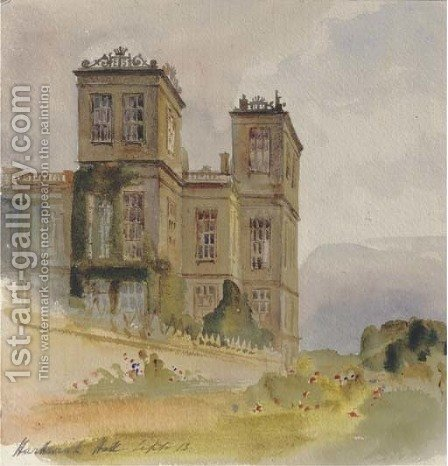 Thornbury Castle, Gloucestershire by Harriet Cheney - Reproduction Oil Painting