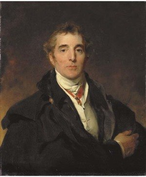 Reproduction oil paintings - Sir Thomas Lawrence - Portrait of Arthur Wellesley, 1st Duke of Wellington, K.G., K.B., M.P. (1769-1852)