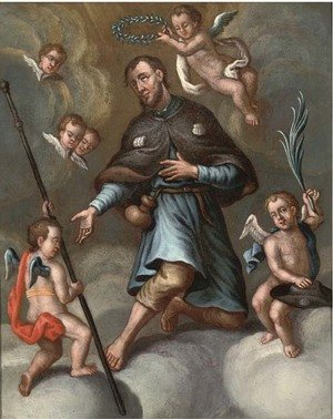 Reproduction oil paintings - Spanish School - Saint James the Greater