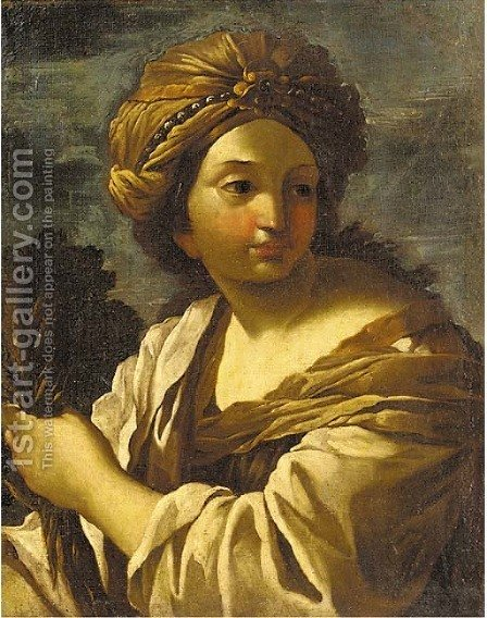 Ceres by (after) Giovanni Francesco Romanelli - Reproduction Oil Painting