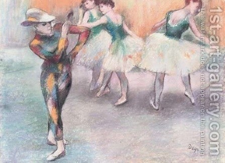 Ballerinas by (after) Edgar Degas - Reproduction Oil Painting