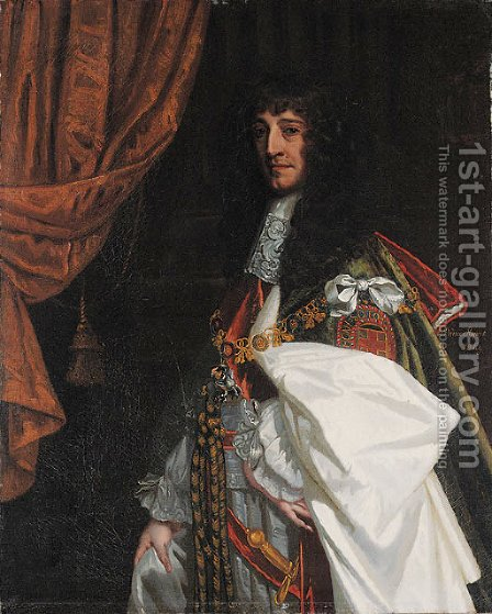 Portrait of Prince Rupert of the Rhine (1619-1682) by (after) Sir Peter Lely - Reproduction Oil Painting