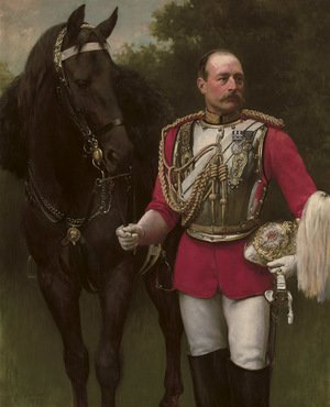 Reproduction oil paintings - John Maler Collier - Portrait of Colonel Rowland John Beech