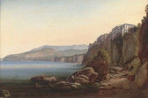 Reproduction oil paintings - Thomas Ender - Sorrento 2
