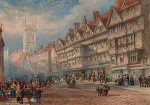 Old houses of Staple Inn, Holborn