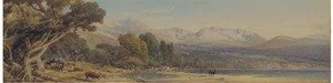 Reproduction oil paintings - Thomas Miles Richardson - Loch Morlich, Cairngorm