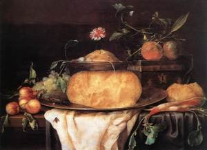 Still-Life with Cheese 1650s