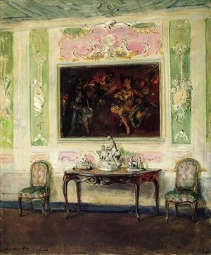 Reproduction oil paintings - Walter Gay - Interieur Venitien