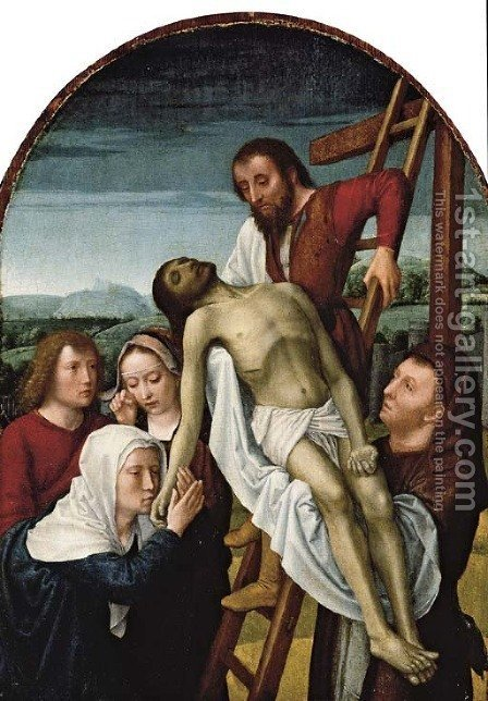 The Deposition 2 by (after) Gerard David - Reproduction Oil Painting