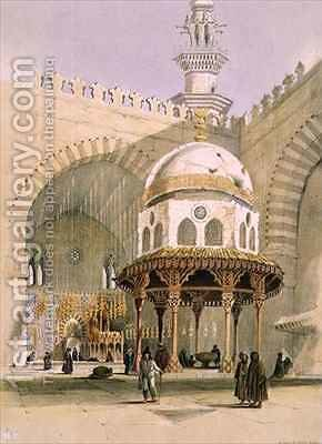 The Mosque of Sultan Hassan, Cairo by A. Margaretta Burr - Reproduction Oil Painting