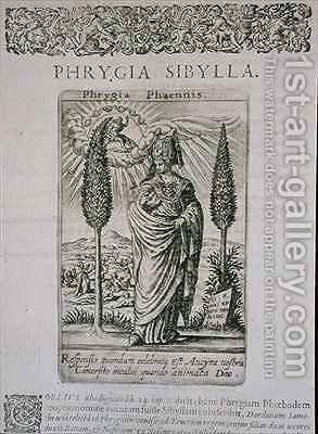 Phrygia Sibylla by (after) Bry, Theodore de - Reproduction Oil Painting