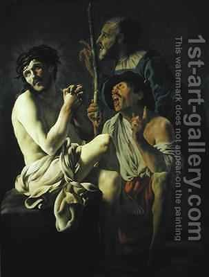 The Mocking of Christ by Hendrick Ter Brugghen - Reproduction Oil Painting