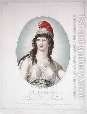 Liberty, Patron of the French by (after) Boizot, Simon Louis - Reproduction Oil Painting