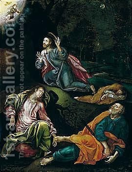 The Agony In The Garden by (after) Giambattista Tinti - Reproduction Oil Painting