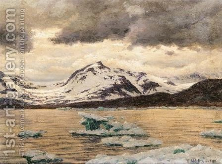 View Of Spitzbergen by Ivan Fedorovich Choultse - Reproduction Oil Painting