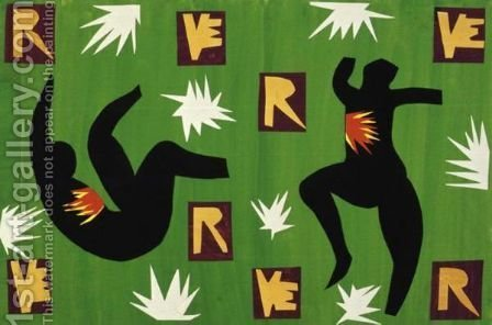 Verve Iv by Henri Matisse - Reproduction Oil Painting
