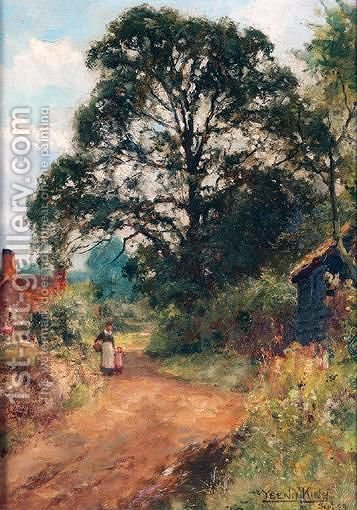 Country Lane by Henry John Yeend King - Reproduction Oil Painting