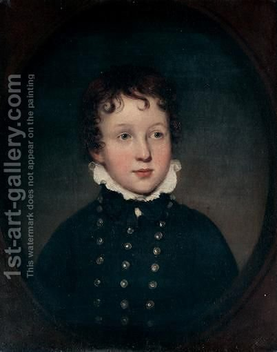 Portrait Of A Boy by (after) George Watson - Reproduction Oil Painting