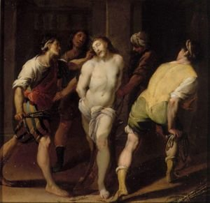 Reproduction oil paintings - Daniele Crespi - The Flagellation
