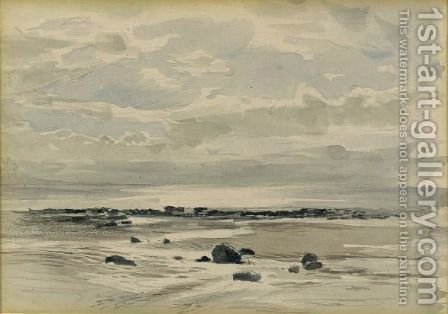 Seascape by (after) Ruskin, John - Reproduction Oil Painting