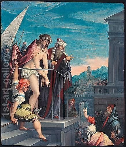 Ecce Homo by (after) Hendrick Goltzius - Reproduction Oil Painting