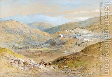 Nazareth by (after) Henry Andrew Harper - Reproduction Oil Painting