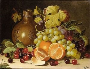 Still Life With Oranges And Jug