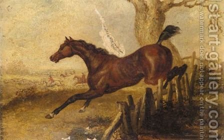 The Call Of The Hunt by (after) James Clarke - Reproduction Oil Painting