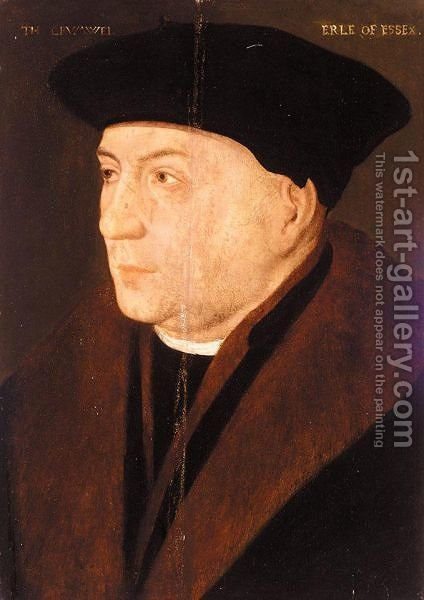 Portrait Of Thomas Cromwell, 1st Earl Of Essex (1485-1540) by (after) Holbein the Younger, Hans - Reproduction Oil Painting